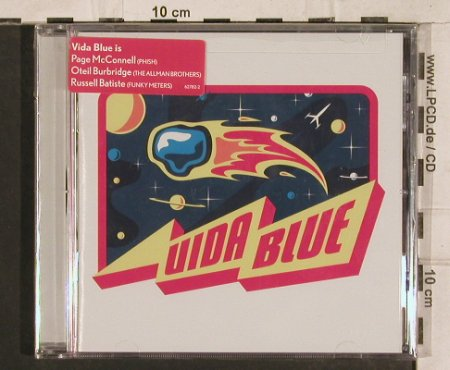 Vida Blue: Same, FS-New, Elektra(), US, 2002 - CD - 83377 - 7,50 Euro