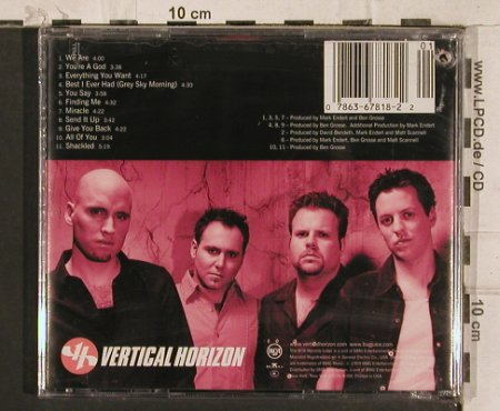 Vertical Horizon: Everything You Want, FS-New, RCA(), US, co, 2000 - CD - 83378 - 7,50 Euro