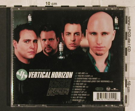 Vertical Horizon: Everything You Want, RCA(), D, 2000 - CD - 83385 - 5,00 Euro