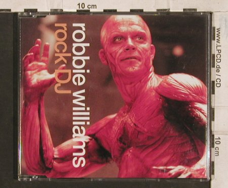 Williams,Robbie: Rock DJ*2+1, Chrysalis(889136 2), EU, 2000 - CD5inch - 83394 - 3,00 Euro