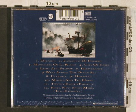 Vangelis: 1492-Conquest Of Paradise, EW(), D, 1992 - CD - 83433 - 7,50 Euro