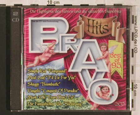V.A.Bravo Hits: Best Of 95, 40 Tr., WB(), NL, 1995 - 2CD - 83435 - 7,50 Euro