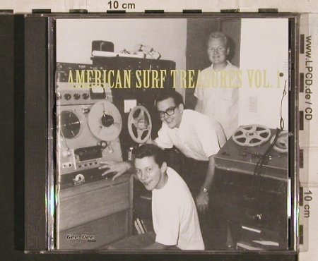 V.A.American Surf Treasures: Vol.1, 25 Tr., Gee-Dee(270158-2), D, 2000 - CD - 83441 - 10,00 Euro