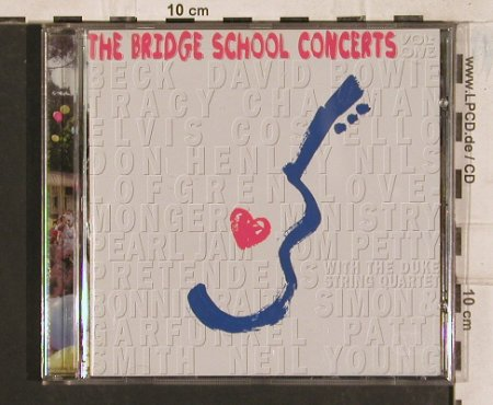 V.A.Bridge School Concerts Vol.1: Neil Young...Patti Smith15 Tr., Reprise(), D, 1997 - CD - 83444 - 6,00 Euro