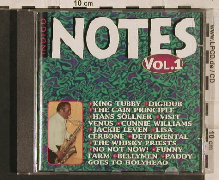 V.A.Indigo Notes Vol.1: King Tubby...Bellymen14 Tr., Notes(), D, 1995 - CD - 83465 - 5,00 Euro