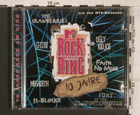 V.A.Rock Am Ring -10 Jahre: Faith No More...Smashing Pumpkins, StarPool(), D, 19Tr., 1995 - CD - 83488 - 7,50 Euro