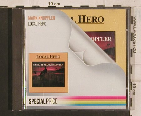 Knopfler,Mark: Local Hero, Vertigo(811 038-2), D, 1983 - CD - 83685 - 7,50 Euro
