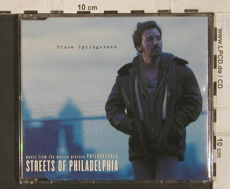 Springsteen,Bruce: Streets Of Philadelphia+3, Columbia(), A, 1993 - CD5inch - 83697 - 3,00 Euro