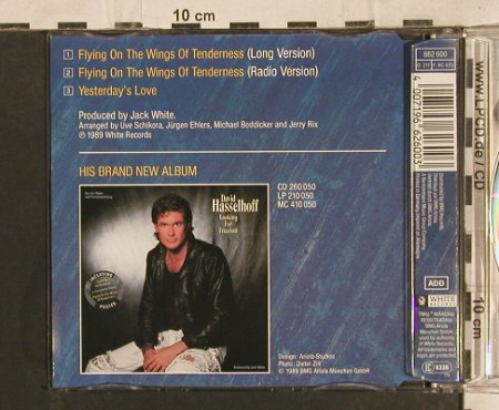 Hasselhoff,David: Flying On The Wings of Tenderness, White Records(), D, 1989 - CD5inch - 83699 - 3,00 Euro