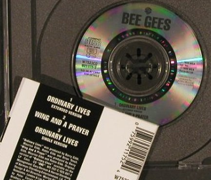 Bee Gees: Ordinary Lives*2/Wing and Prayer, WEA(921 175-2), D, 1989 - CD3inch - 83700 - 9,00 Euro