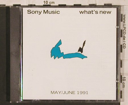 V.A.What's New: May/June'91,Clash...Firehouse, CBS(SAMPCD 1512), A, 1991 - CD - 83723 - 10,00 Euro