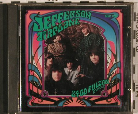 Jefferson Airplane: 2400 Fulton Street-Collection, RCA(5724-2-R-P2), J, 1987 - CD*2 - 83753 - 20,00 Euro