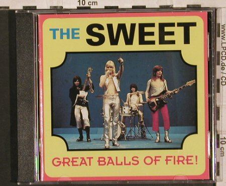 Sweet: Great Balls of Fire,LiveInSwed'1971, Pseudonym(), , 1993 - CD - 83779 - 10,00 Euro