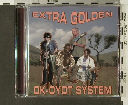 Extra Golden: Ok-Oyot System, Thrill Jockey(), CDN, 2006 - CD - 84047 - 10,00 Euro
