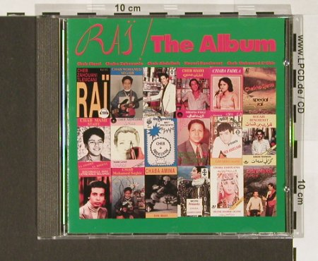 V.A.Rai / The Album: 11 Tr., Korea Records(TLM 1002), D, 1989 - CD - 84058 - 7,50 Euro