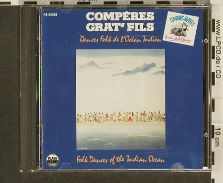 Comperes Grat'Fils: Danses Folk de L'Ocean Indien, Playa Sound(), F, 1988 - CD - 84091 - 7,50 Euro