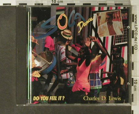 Lewis,Charles D.: Soca Dance - Do You Feel It  (Soca), Metronome(847 167-2), D, 1990 - CD - 84092 - 6,00 Euro