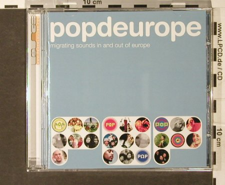 V.A.Popdeurope: Migrating Sounds In&Out Of Europe, Peacelounge(), EU, 2003 - CD - 84165 - 7,50 Euro