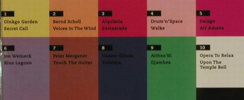 V.A.Colour & Music: Ginko Garden..Opera to Relax,10 Tr., Prudence(), D, 2003 - CD - 84189 - 5,00 Euro