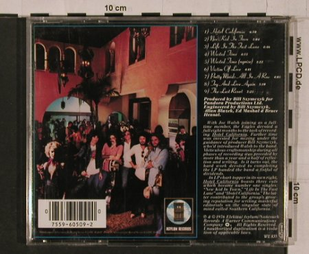 Eagles: Hotel California, Asylum(), D, 1976 - CD - 84266 - 6,00 Euro