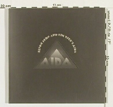 John,Elton+Tim Rice's: Aida, Advanced,PromoBookl.calender, Mercury(), UK, 99 - CD - 90005 - 5,00 Euro