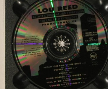 Reed,Lou: Between thought a.Expression,Promo, BMG(LR001), UK,Digi, 92 - CD - 90121 - 10,00 Euro