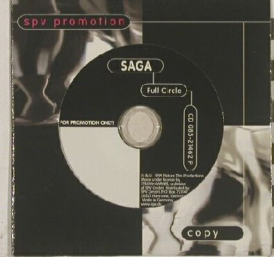Saga: Full Circle, 10 Tr. Promo,Digi, Steamhammer(), D, 99 - CD - 90126 - 5,00 Euro