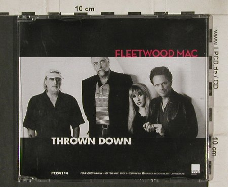 Fleetwood Mac: Thrown Down,1Tr. Promo, Reprise(4174), D,  - CD5inch - 90225 - 5,00 Euro