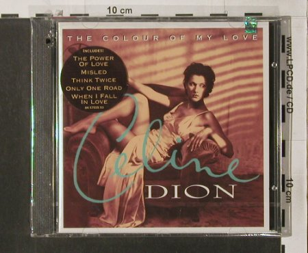 Dion,Celine: The Colour Of My Love, FS-new, 550/Epic(BK 57555), US, co, 1993 - CD - 90240 - 10,00 Euro