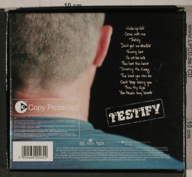 Collins,Phil: Testify, Box + Cards, Warner(), D, 02 - CD - 90243 - 10,00 Euro