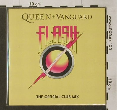 Queen & Vanguard: Flash,official Club Mixes,1Tr.Promo, EMI(), EU, Digi, 02 - CD5inch - 90368 - 10,00 Euro