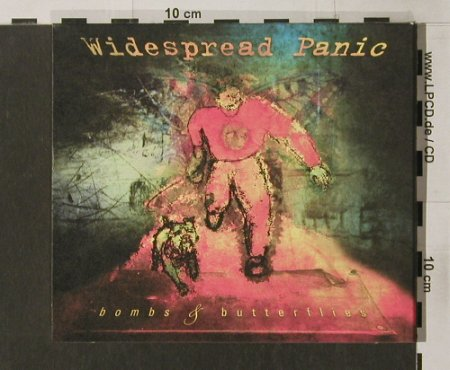 Widespread Panic: Bombs+Dutterflies, Digi, Capricorn(), US, 97 - CD - 90375 - 10,00 Euro