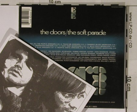 Doors: The Soft Parade,Vinyl replica,Digi, Elektra(), EU,  - CD - 90405 - 10,00 Euro