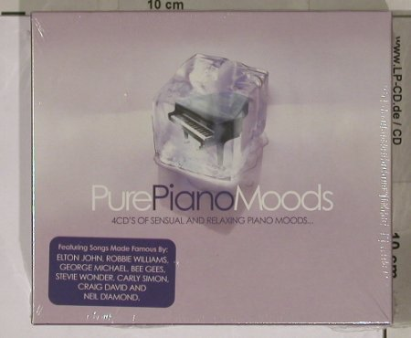 V.A.Pure Piano Moods: 4CDs of sensual arelaxing, FS-New, Beechwood(PURcd06), UK,Boxset, 03 - 4CD - 90414 - 10,00 Euro
