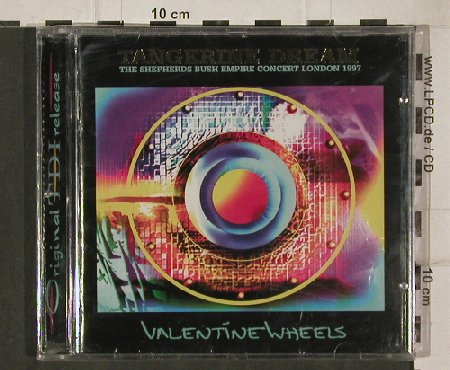 Tangerine Dream: Valentine Wheels-Conc.London'97, TDI(013), D, FS-NEW,  - CD - 90421 - 10,00 Euro