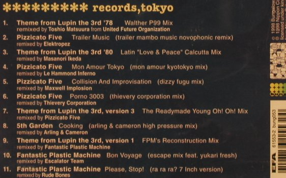 V.A.Readymade Records Tokio: Remix, FS-New, Bungalow(bung 053), , 1998 - CD - 90500 - 7,50 Euro