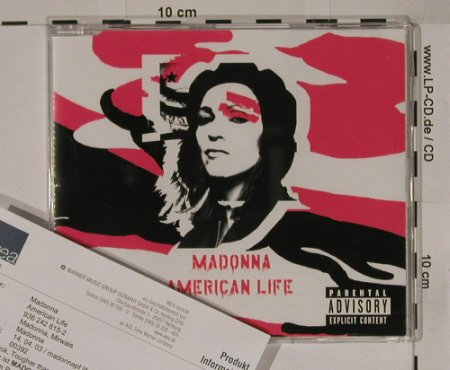 Madonna: American Life*3, red Cover, Facts, Warner(), EU, 2003 - CD5inch - 90594 - 7,50 Euro