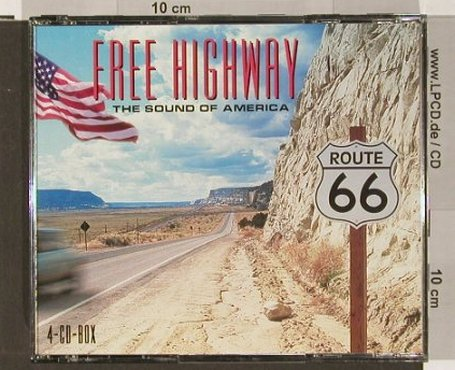 V.A.Free Highway: The Sound of America, Sony(), , 2001 - 4CD - 90810 - 10,00 Euro