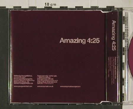 Michael,George: Amazing,Promo,1Tr., Sony(13777 1), EU, 2004 - CD5inch - 90848 - 5,00 Euro