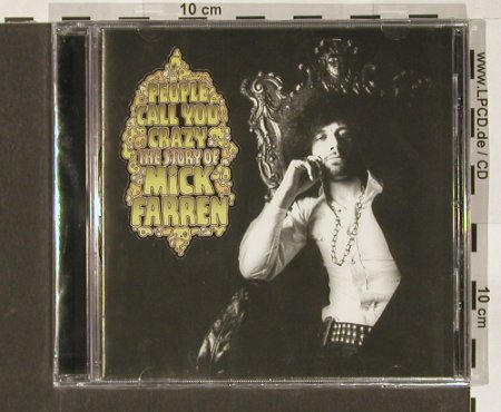 Farren,Mick: People Call You Crazy-Story of, Sanctuary(), UK,FS-New, 03 - CD - 90893 - 10,00 Euro