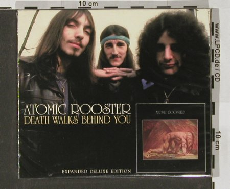 Atomic Rooster: Death Walks Behind You,exp.Deluxe, Sanctuary(), EU, FS-New, 2004 - CD - 90902 - 11,50 Euro