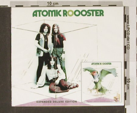 Atomic Rooster: Atomic Ro-o-oster,exp.Deluxe, Sanctuary(), EU, FS-New, 2004 - CD - 90903 - 11,50 Euro