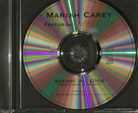 Carey,Mariah f.Westlife: Against all Odds+1,NoBooklet, Columb.(SAMPCS8944), D, 2000 - CD5inch - 90980 - 3,00 Euro