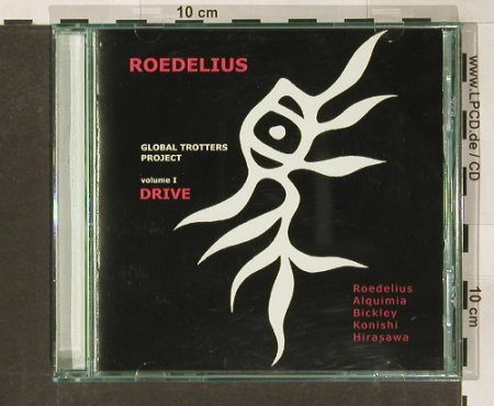 Roedlius,Hans-Joachim: Global Trotters Project Vol. 1, Ryko(), EU, 1999 - CD - 91125 - 12,50 Euro