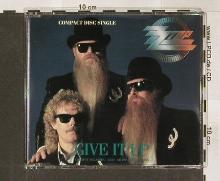 ZZ Top: Give It Up+2, WB(), D, 1990 - CD5inch - 91186 - 4,00 Euro
