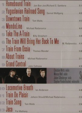 Spring String Quartet: Train Songs, CCn'C Rec.(02022), D, 2002 - CD - 91191 - 10,00 Euro
