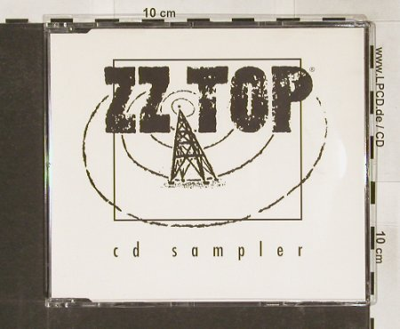 ZZ Top: CD Sampler,4 Tr.Promo, RCA(ZZ001), UK, 1993 - CD5inch - 91192 - 9,00 Euro