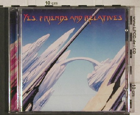Yes By V.A.: Friends & Relatives, FS-New, Eagle(), EC, 1998 - 2CD - 91286 - 10,00 Euro