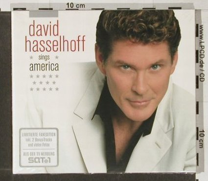 Hasselhoff,David: Sings America,Limited Fan Edition, BMG(), D, FS-New, 2004 - CD - 91410 - 10,00 Euro