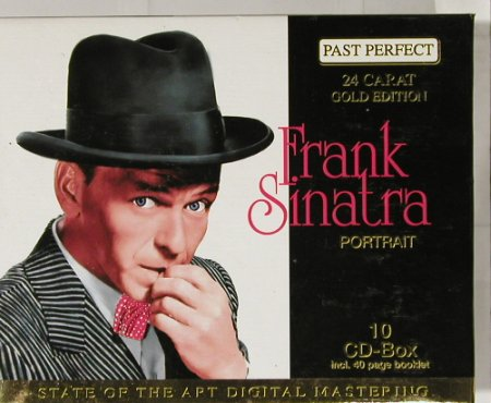 Sinatra,Frank: Portrait-Box, PastPerfect(204200), D,  - 10CD - 91411 - 20,00 Euro